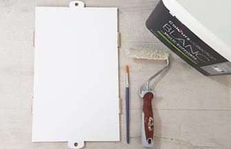 boite enfant à décorer peinture