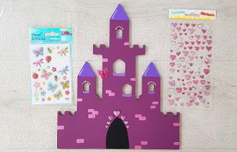 déco féerique pour une chambre avec ce grand château