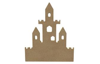 customiser ce grand château fort en bois