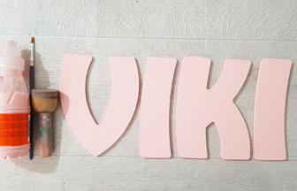 lettres en bois à peindre