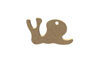 mini escargot en bois à personnaliser