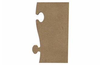 pièce de puzzle en bois à peindre