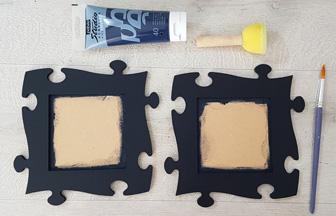 customiser le cadre photo avec de la peinture