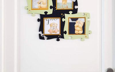 Tuto : cadre photo enfant puzzle en bois, décoration DIY pour une chambre