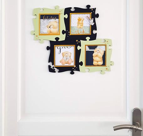 cadre photo enfant à décorer pour une chambre