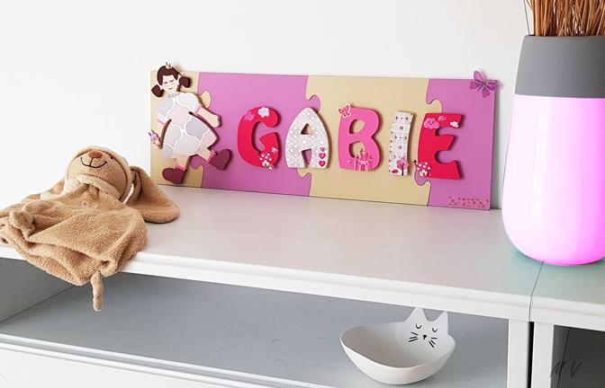 Tuto : créer son prénom en bois avec des lettres à décorer