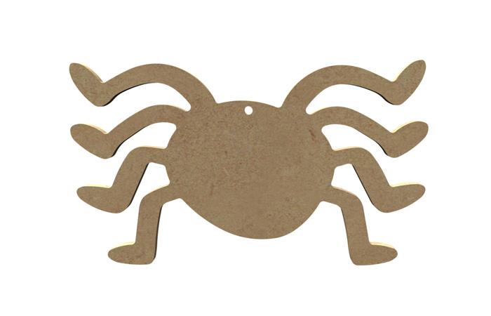 araignées Halloween en bois à décorer