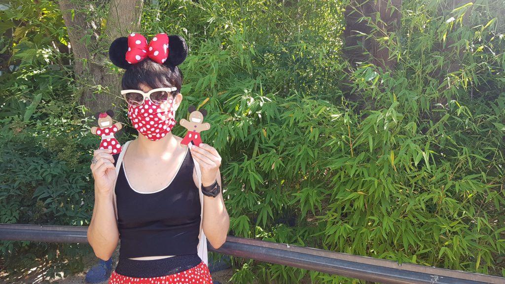 journée Disney tenue mini avec petits biscuits