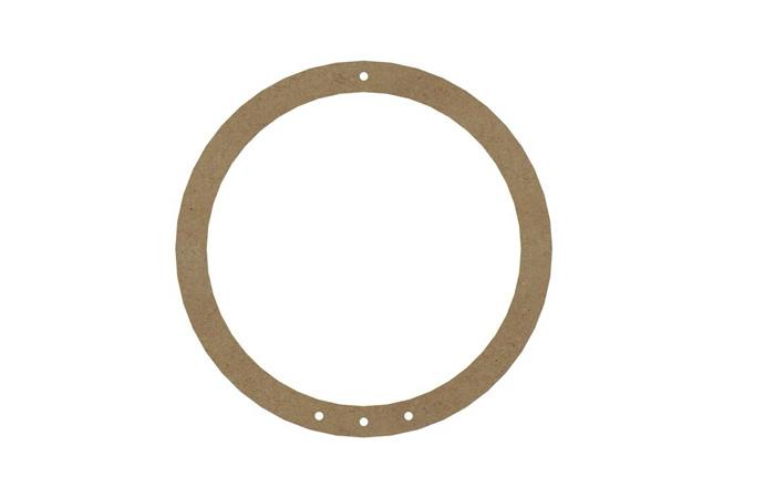 bricolage attrape rêve facile avec ce cercle en bois à décorer