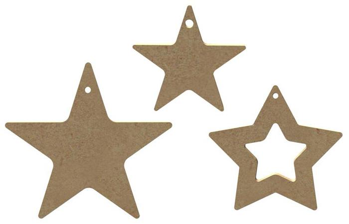 bricolage attrape reve facile avec les étoiles en bois