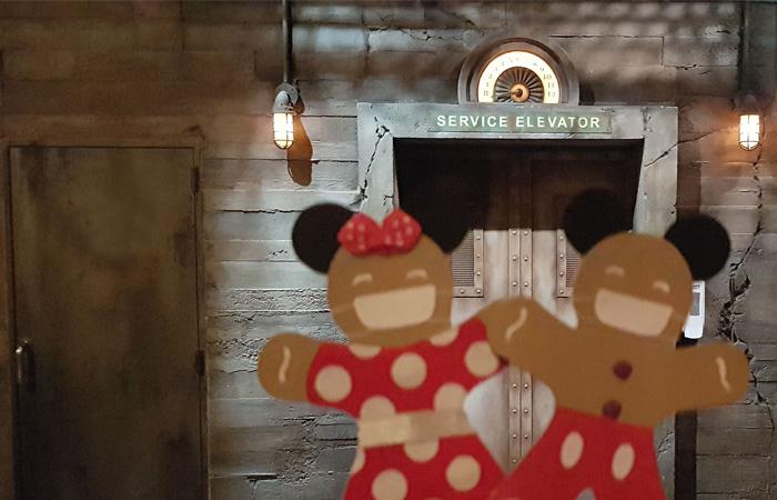 la tour de la terreur avec monsieur et madame biscuit