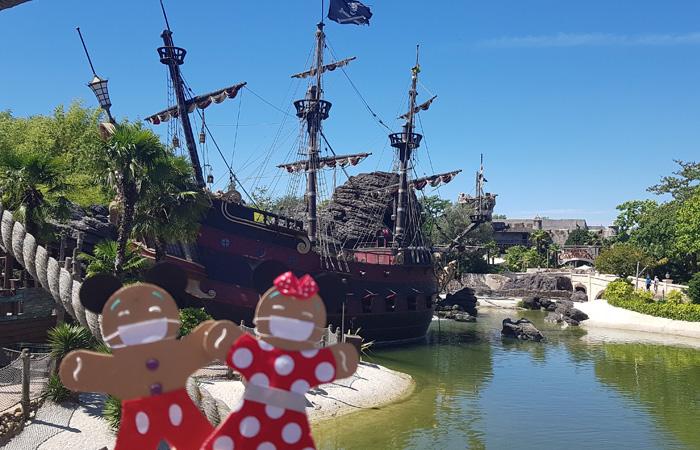 les décors de pirates des caraibes