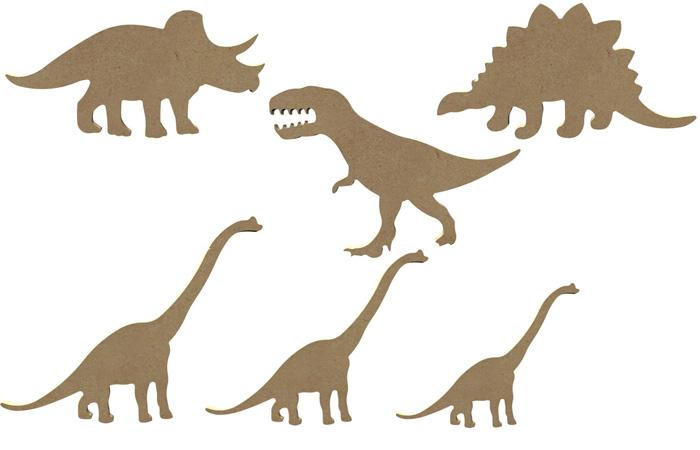 tuto dinosaure en bois à décorer