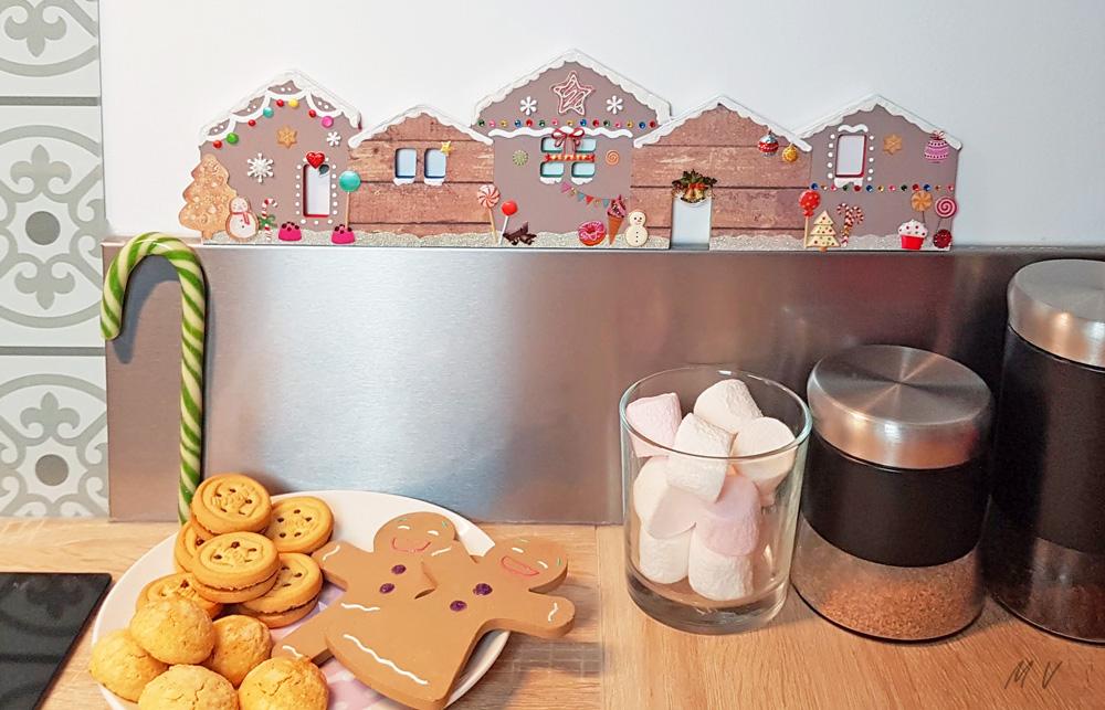 Une décoration maison pain d'épice en bois pour un Noël gourmand !