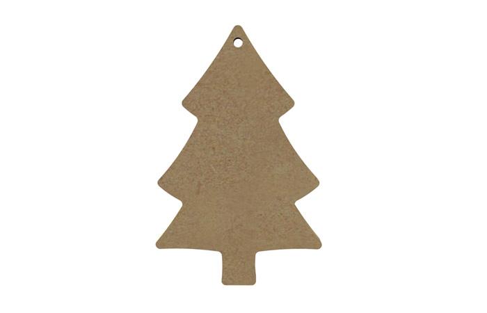 petit sapin à suspendre en bois Noël