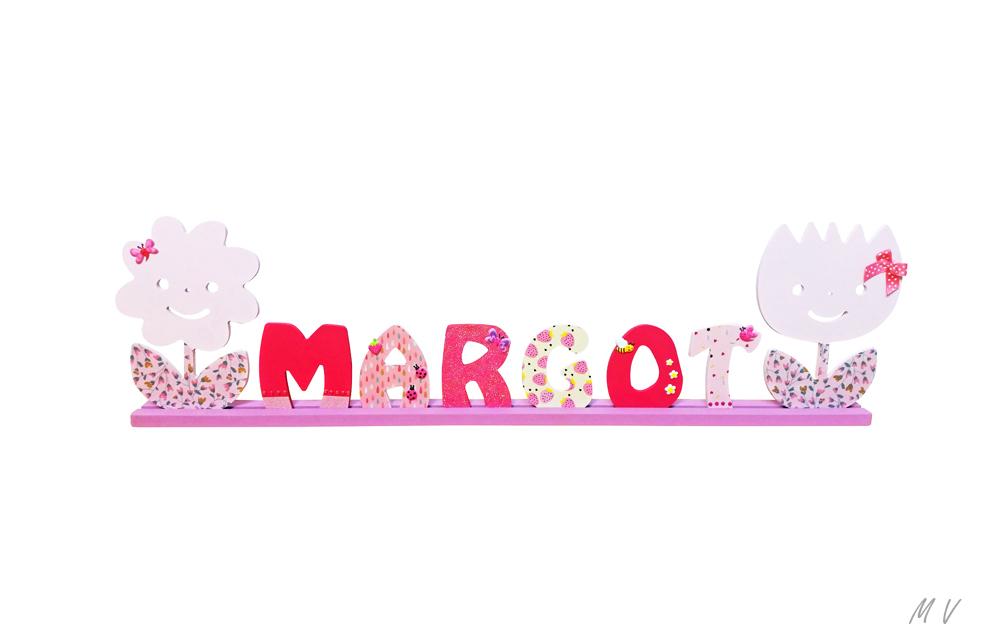 Tutoriel : lettres décoratives pour personnaliser un prénom !
