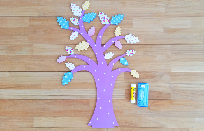 chêne en bois à décorer en DIY