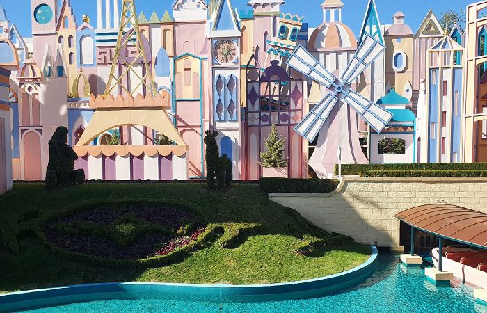 une journée Disney avec le monde des poupées
