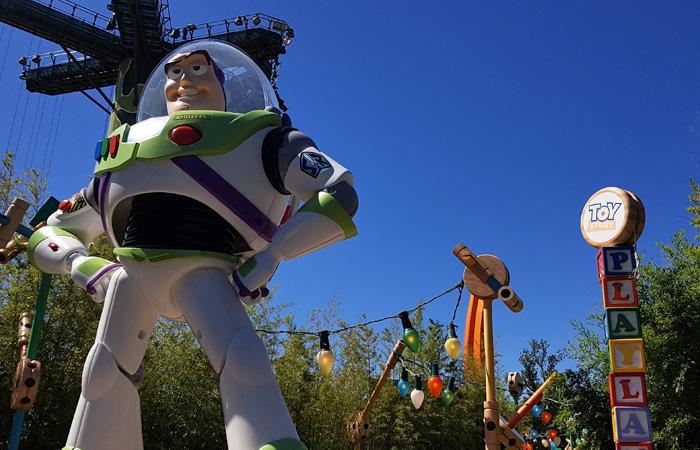 journée Disney avec buzz