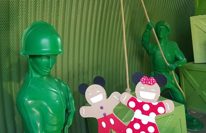 journée Disney avec les soldats