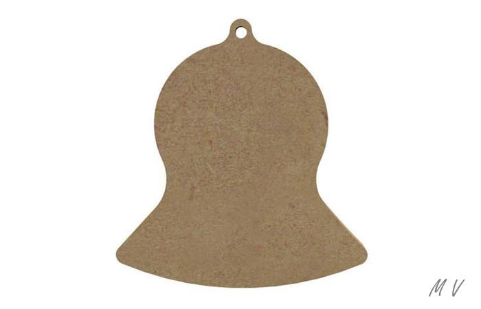 cloche en bois pour la décoration de table spéciale pâques