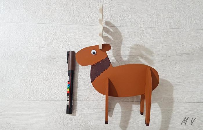 caribou en bois à personnaliser pour noël