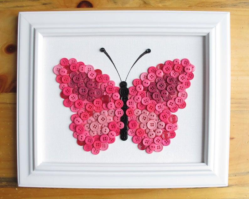 papillon en boutons