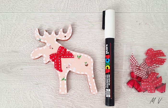 élan en bois pour vos déco de Noël