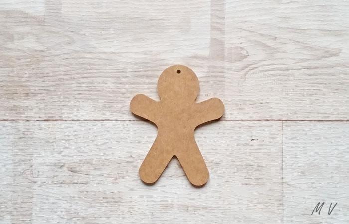 monsieur biscuit en bois à peindre