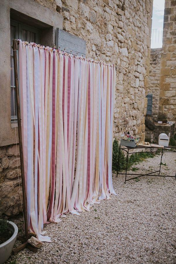 photobooth diy avec ruban